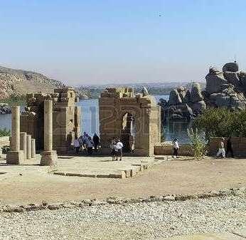 -agilkia-island-nile-river-egypt--temples-converted-into-a-church-dedicate